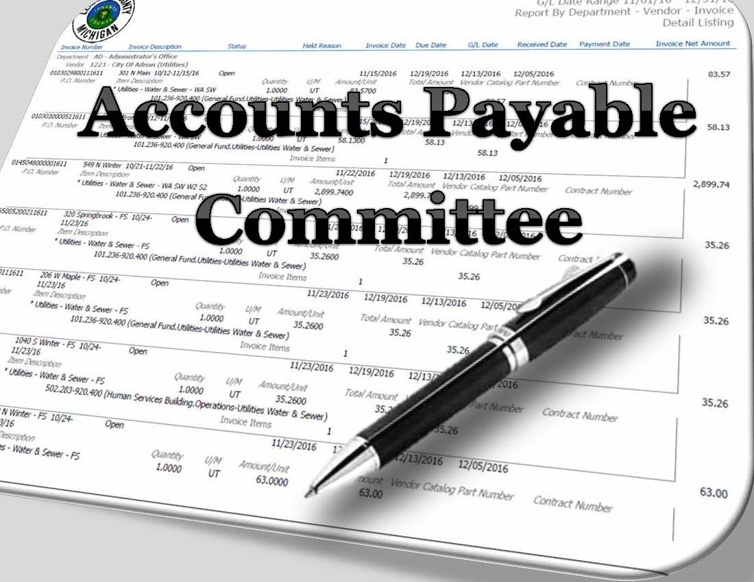 Accounts Payable Committee