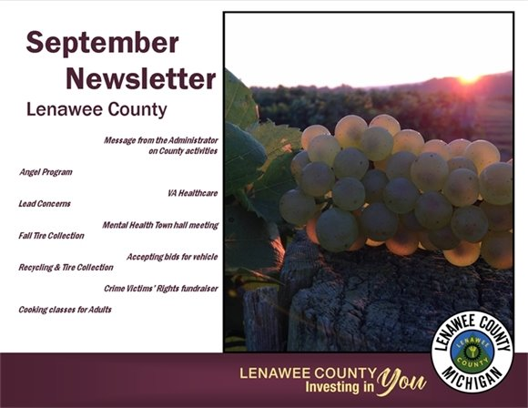 Lenawee County September Newsletter