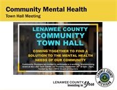 CMHA Town Hall Meeting