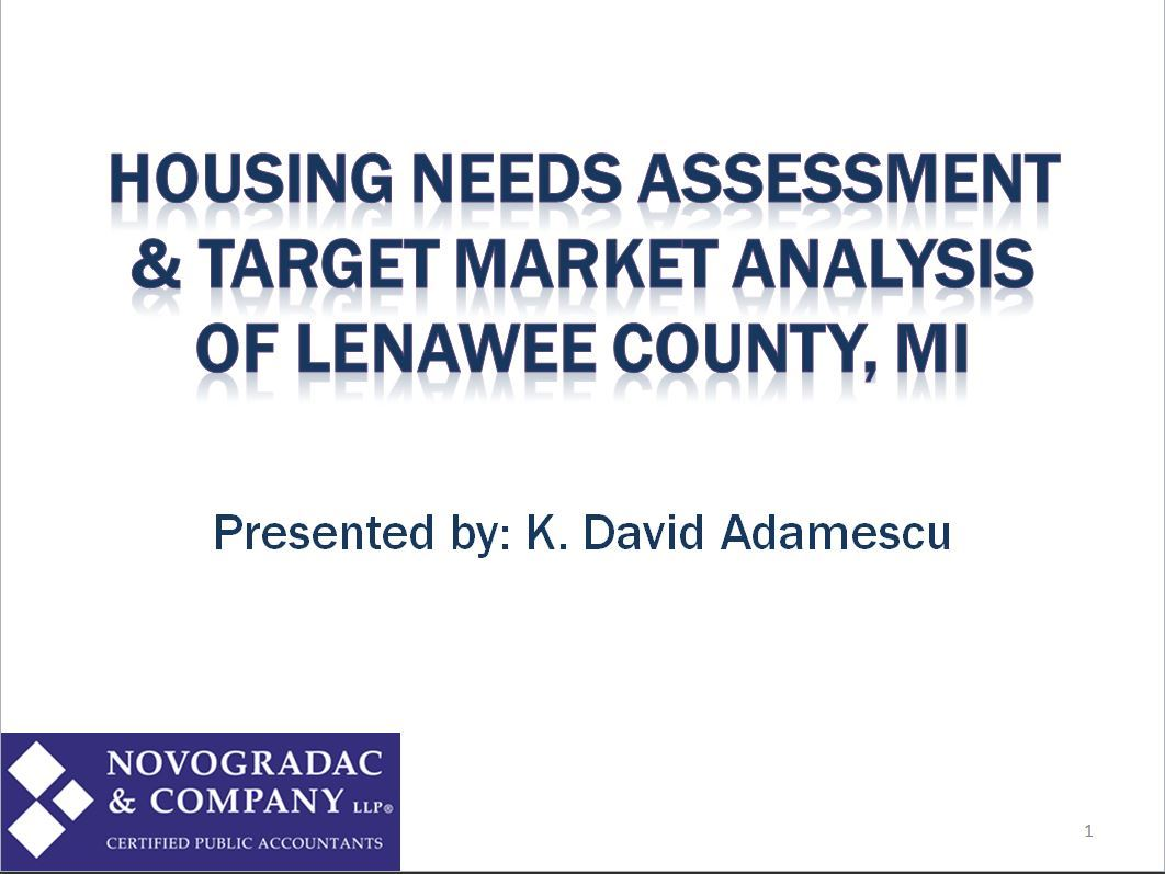 Housing Needs Assesment