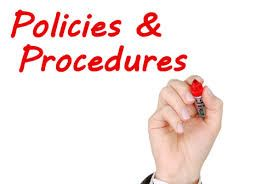 policies procedures