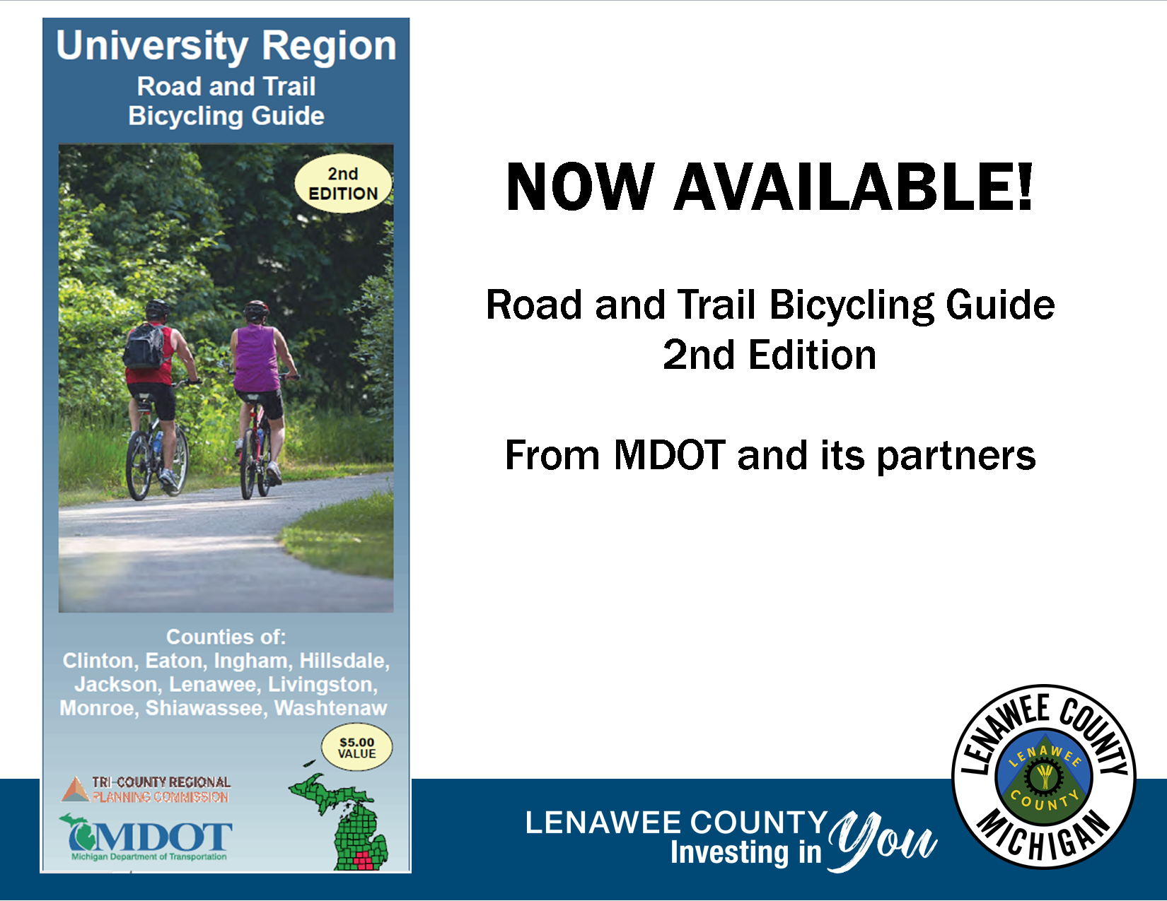 MDOT Bike Trail Map