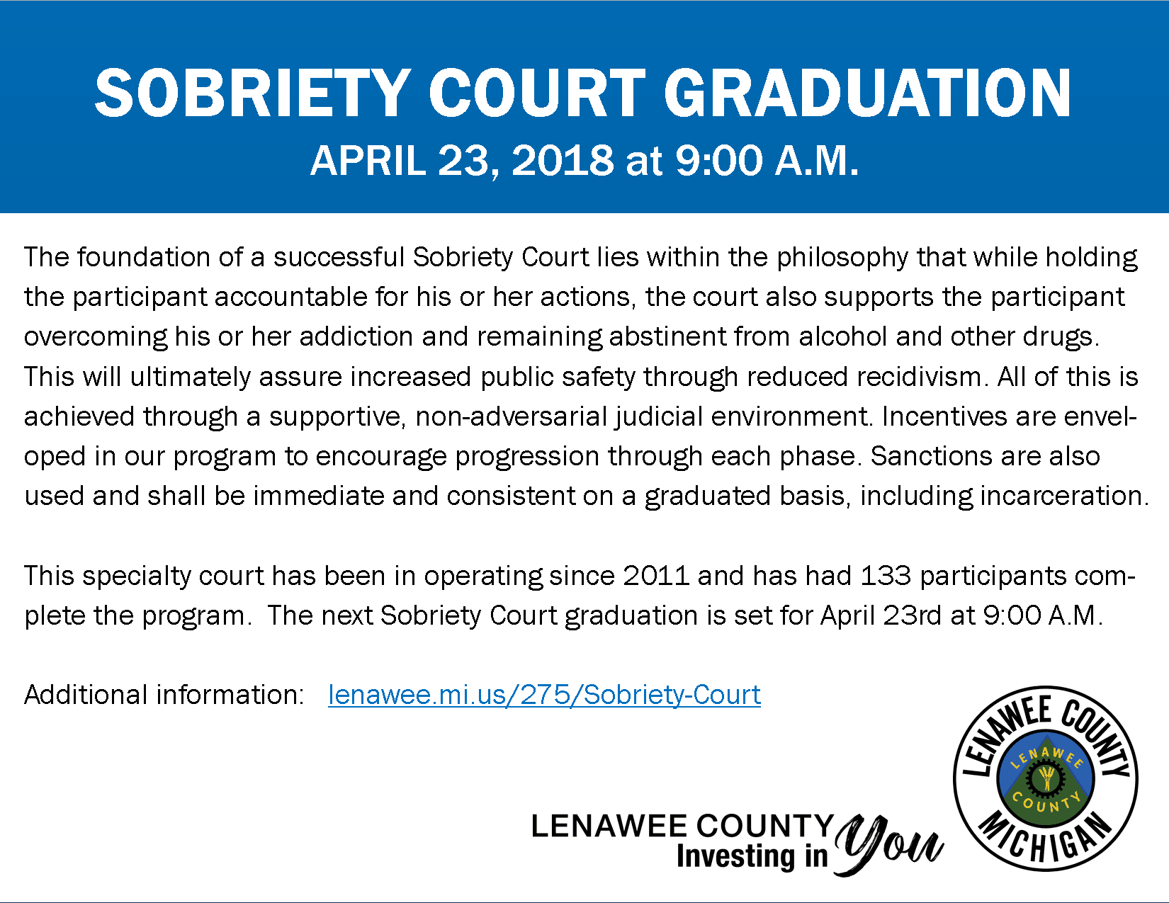 sobriety court graduation