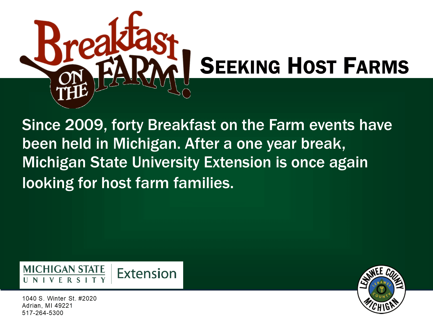Breakfast on the farm logo