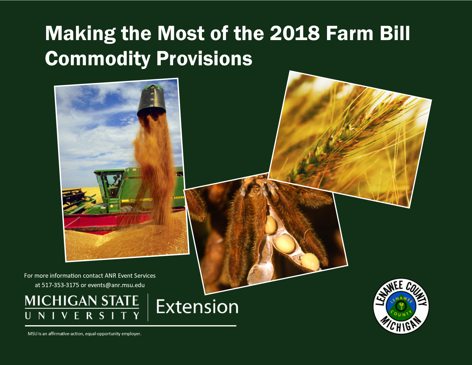 farm bill flyer