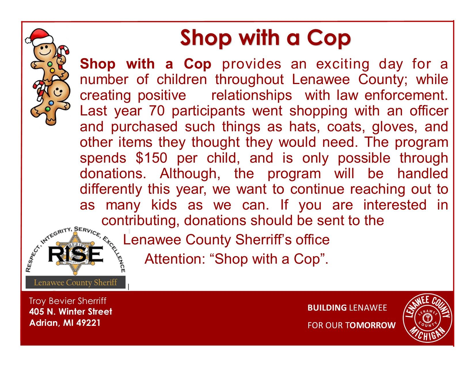 Shop with a Cop II