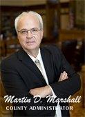 Martin Marshall, County Administrator