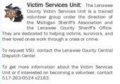 Victim Services Unit