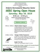 Spring Open House flyer