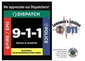 We appreciate our Dispatchers!