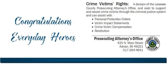 Crime Victims' Rights EveryDay Heroes