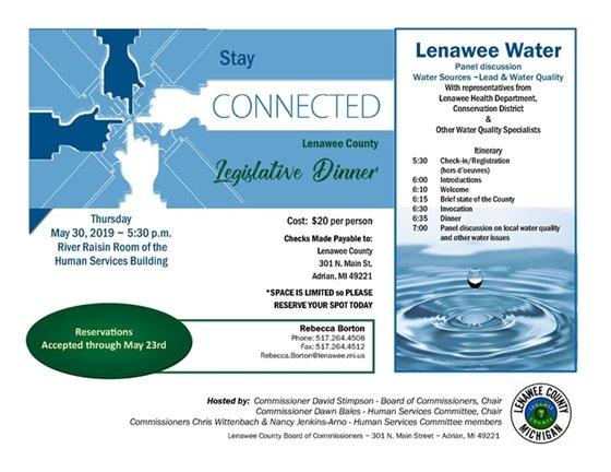 Legislative dinner