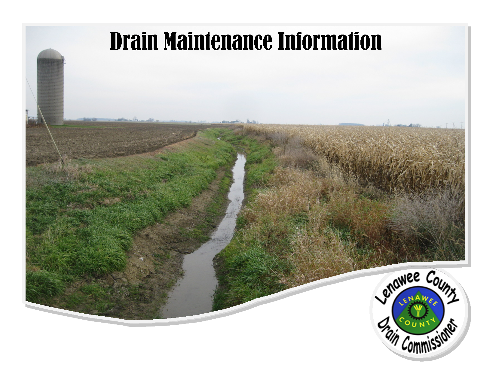 Drain Right-of-Way Vegetation Management Brochure