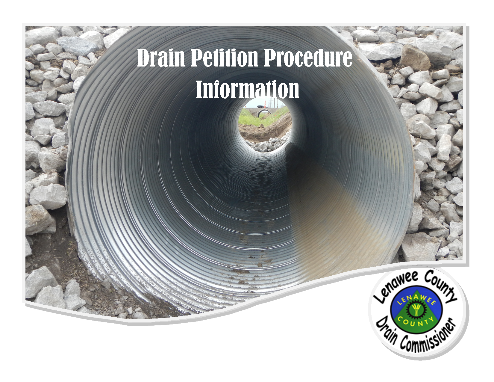 Drain Petition Procedures Brochure