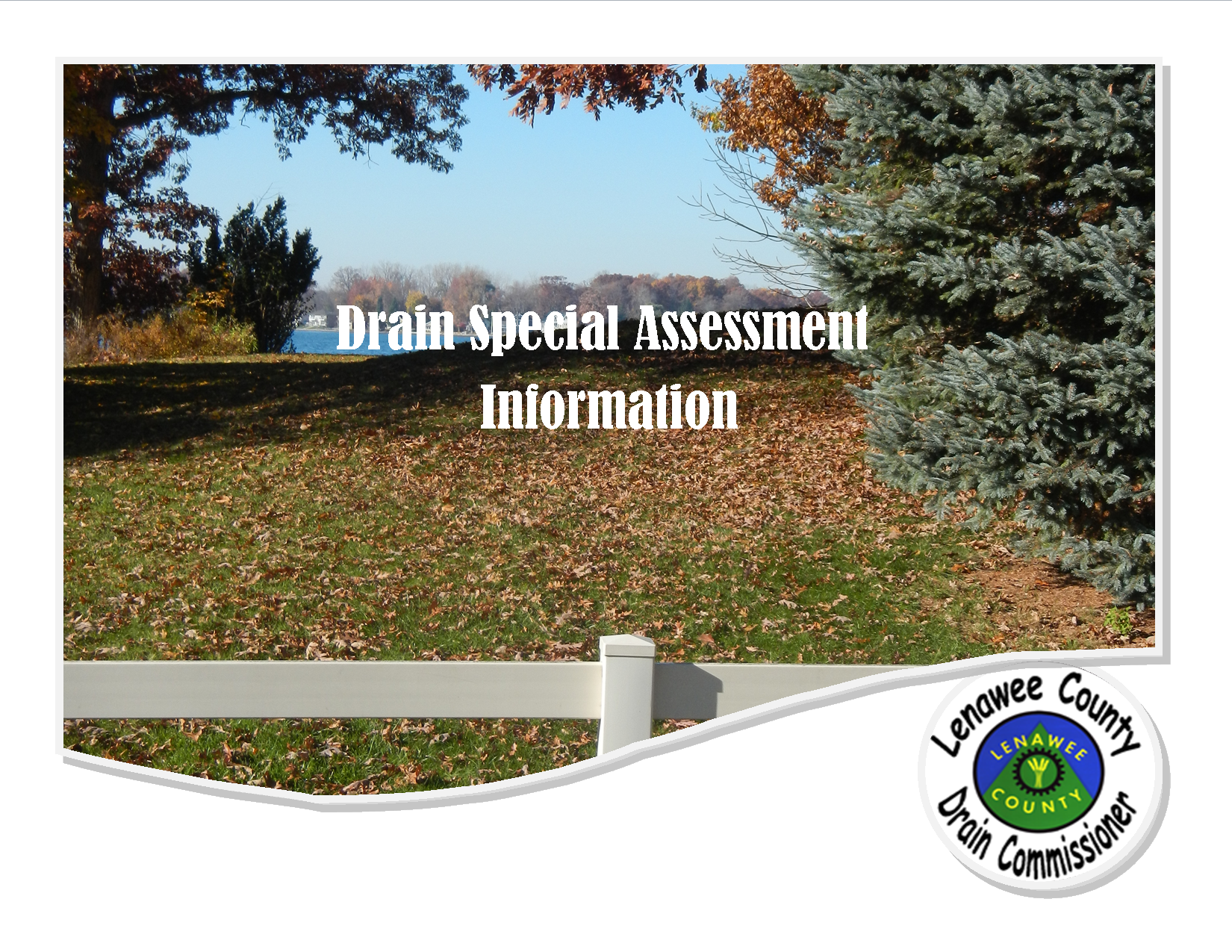 10 Frequently Asked Questions About Drain Special Assessments Brochure