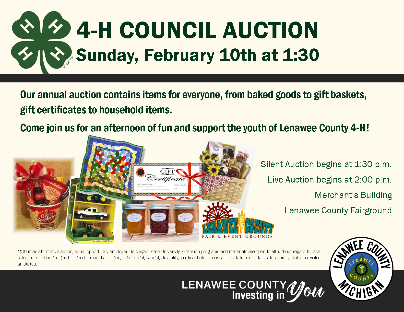 4H Council Auction