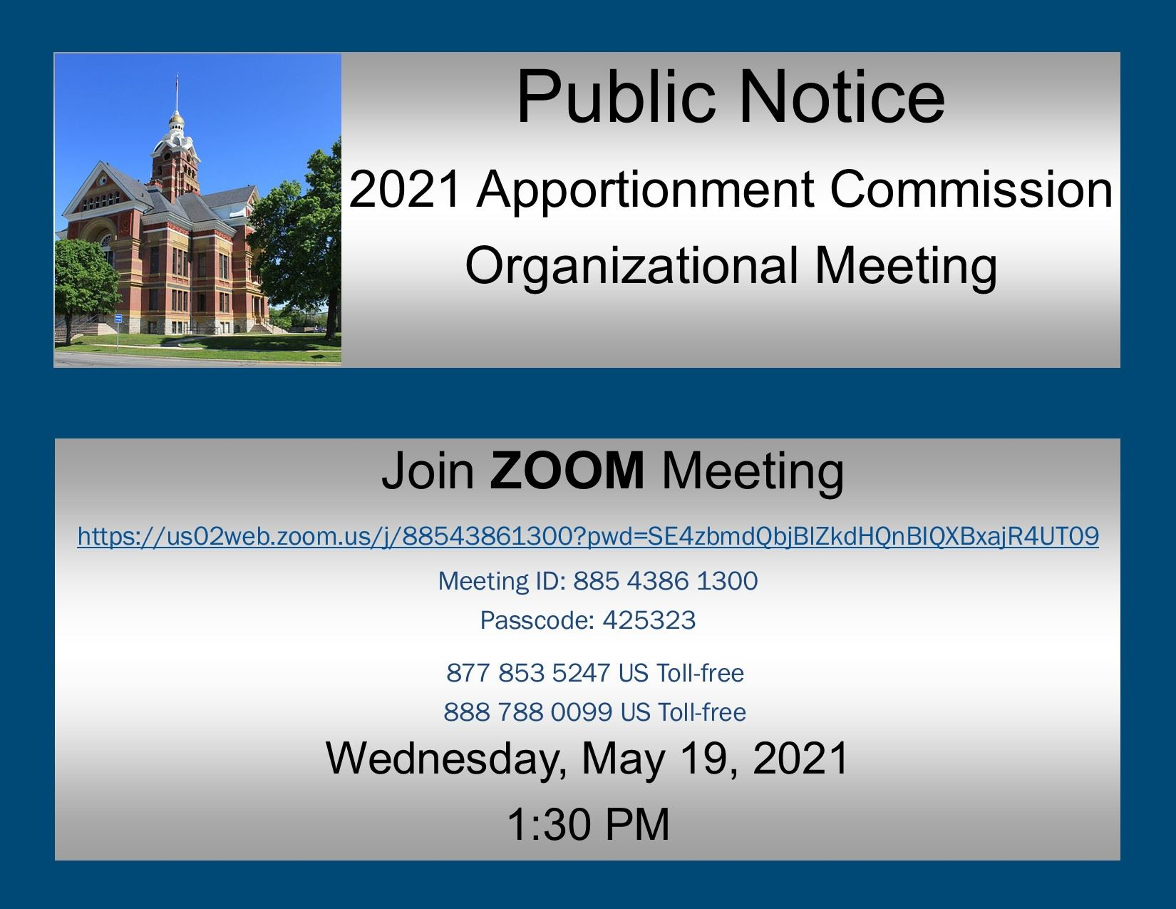 Public Hearing Notice-2021 Apportionment Meeting